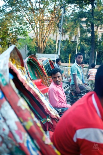 The rickshaws of Sonargaon
