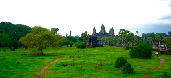 Angkor rain